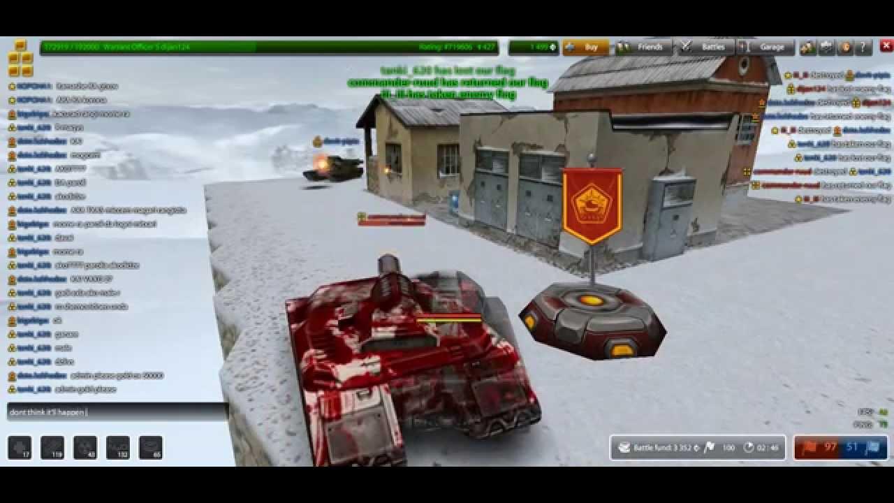 Tanki Online Islad CTF Server 35 part 2 Tanki Online Free MMO game ...