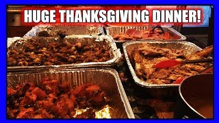 Huge Thanksgiving Dinner 2018 (PTD Vlogs Day 374)