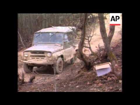 Bosnia - Gorazde Shelling