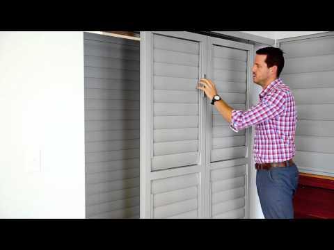 Shutterguard Aluminium Sliding, Bi-fold or Hinged Shutters - Vanguard Blinds