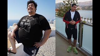 Greekgodx Weight loss transformation 2017 - 2019
