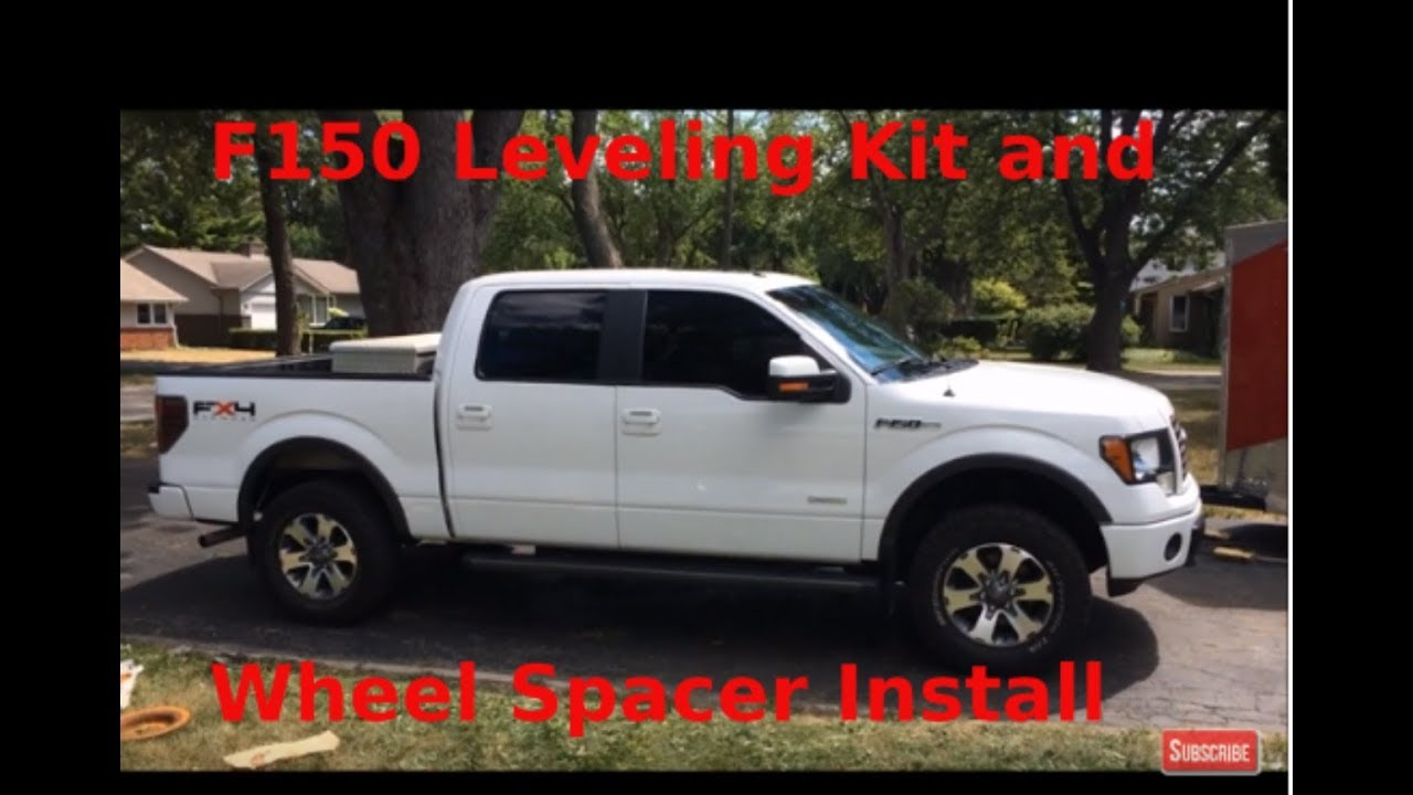 """How TO: 2011 Ford F150 FX4 1.5"""" Motofab Leveling Kit and 1 ..."""