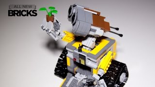Lego Ideas 21303 WALLE with Head Mount Modification Kit Speed Build