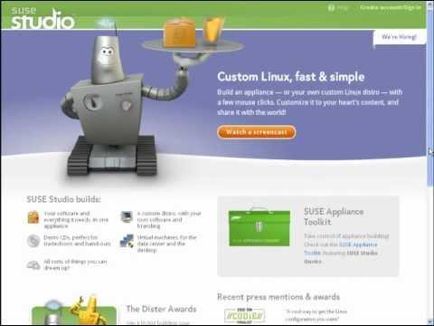 Website Review: SuseStudio com-Build Your Own Linux Distro!