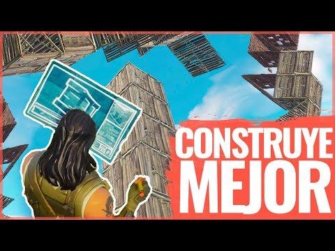 CONSTRUIR Como Un PROFESIONAL En FORTNITE   TUTORIAL Red Royale