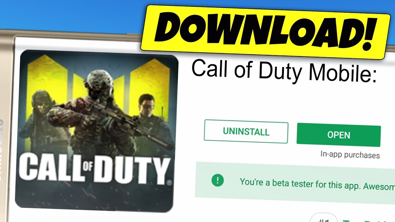 CALL OF DUTY MOBILE Android  DOWNLOAD APK RELEASE (China)  #Smartphone #Android