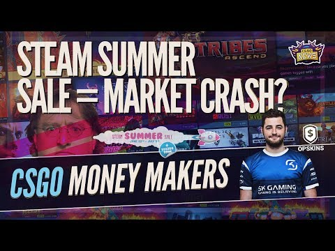 CSGO Skin Market Crash is Coming, Top Earners in CSGO, Bad News for C9/TSM, ECS Drama & OPSkins HYPE