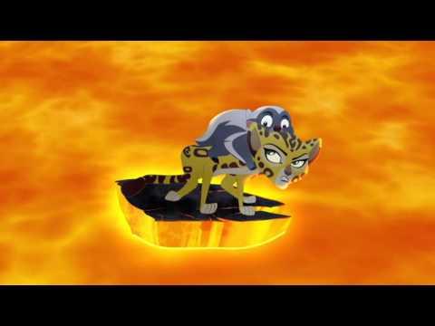 The Lion Guard: Volcano Rescue! - Fuli's New Family Clip HD