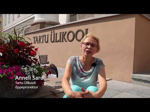 Tartu Ülikooli õppeprorektor Anneli Saro kutsub ülikooli astuma