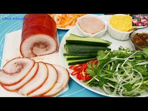 THỊT NGUỘI và BƠ - Cách làm Bơ, Thịt nguội Jambon Instant Po