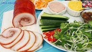 BÁNH MÌ THỊT VIỆT NAM - Cách làm Bơ, thịt nguội Jambon Instant Pot nhồi Bánh Mì thịt by Vanh Khuyen