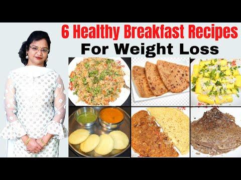 6 Healthy Breakfast Recipes for Weight Loss | Vibrant Varsha