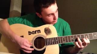 Первые попытки игры на гитаре