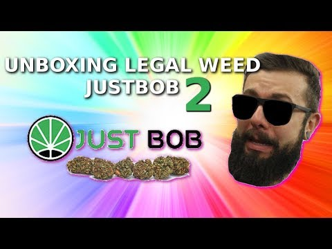 Erba Legale CBD Just Bob Legal Weed [UNBOXING]