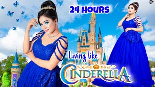 Living like *CINDERELLA* Disney PRINCESS for 24 hours | Gone *TOO FUNNY* | Nilanjana Dhar