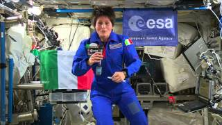International Space Station Crew Member Discusses Living in Space with Italian President