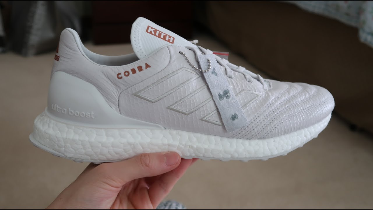 af9cc33c0fe Adidas x Kith Copa 17.1 Cobra Ultra Boost Sneaker Unboxing - YouTube
