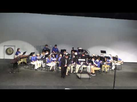 Raceland Middle School Symphonic Band 03-29-2017