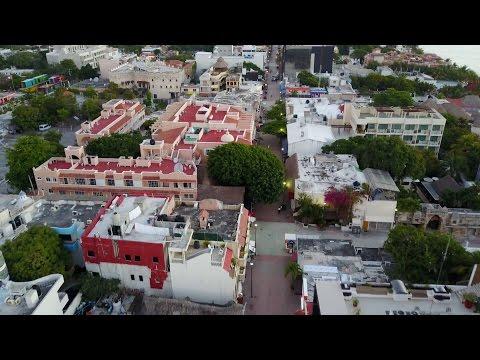 Playa Del Carmen 2017 5th avenue (Safe, Happy, Friendly, and Warm). Drone MavicPro