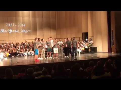 2013-2014 Bloomfield Hills High School Black Hawk Singers Performing For The Longest Time as Seniors