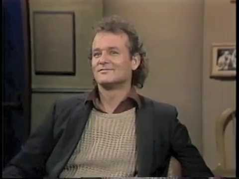 Bill Murray on Late Night, May 31, 1984
