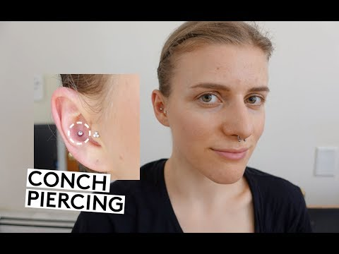 My Piercing Story Experience! - PAIN HEALING for Helix, Navel, Tragus, Conch, Lobes from YouTube · Duration:  34 minutes 34 seconds