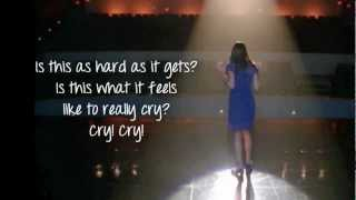 Baixar Glee - Cry (Lyrics)