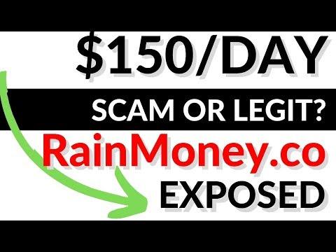 RainMoney.co SCAM? Legit REVIEW - Payment Proof?