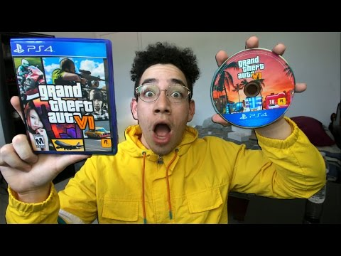 GTA 6 - Unboxing My Prize from Rockstar Games!