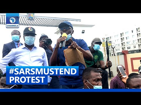 #SARSMustEnd: Sanwo-olu Joins Protesters To March In Lagos
