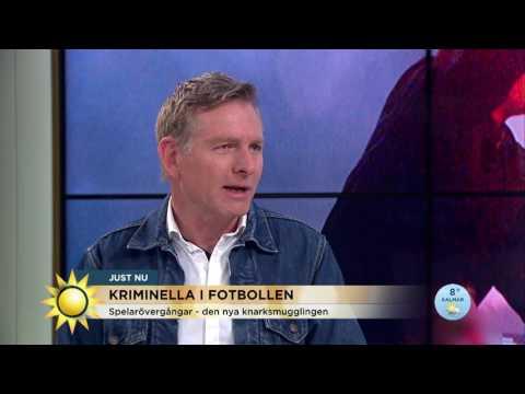 Kriminella nätverk styr allt mer inom svensk fotboll - Nyhetsmorgon (TV4)