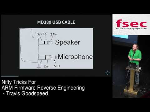 FSec 2016 - Travis Goodspeed: Nifty Tricks for ARM Firmware Reverse Engineering