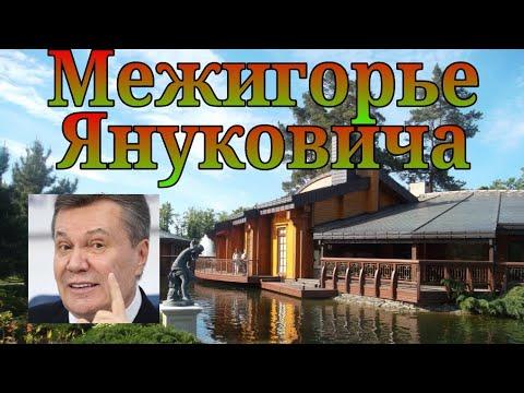 Резиденция Януковича Виктора Федоровича в Межигорье – быстрый обзор территории(SONY-AS300)