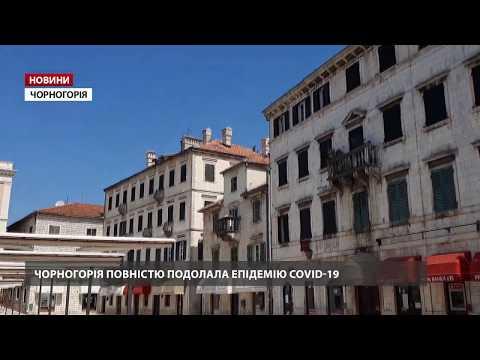Чорногорія фактично подолала коронавірус