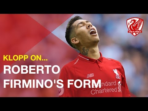 Jurgen Klopp addresses Roberto Firmino's dip in form for Liverpool