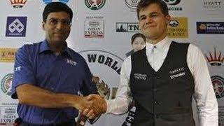 9 партия матча Ананд - Карлсен - Малыш чемпион мира по шахматам