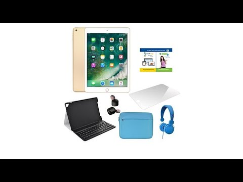 Apple iPad 9.7 32GB WiFi Tablet w/Truly Wireless Earbuds... - 동영상