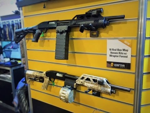 Adaptive Tactical: Shotgun Accessories Like You've Never Seen Before