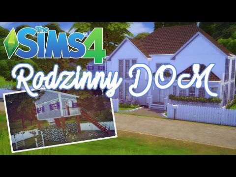 🏠 THE SIMS 4 BUILD | Rodzinny Dom Z Domkiem Na Drzewie I Ciekawą Piwnicą 🏠 [No CC]