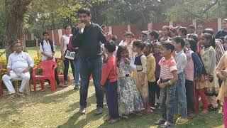 Children of Wazirpur village  participated in dance n music n celebrated day NSS  n Bharat Vatwani