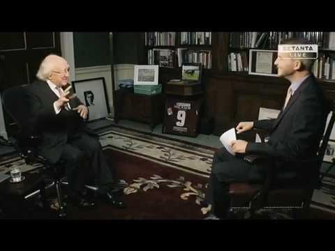 President Michael D. Higgins on his love for Irish soccer
