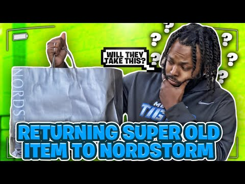 I Tried To Return A Super Old Item To Nordstrom!! Did They Take It??