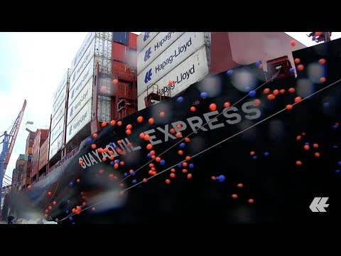Naming Ceremony for Guayaquil Express in Hamburg | Hapag-Lloyd