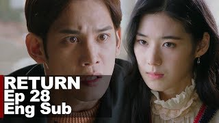 Park Ki Woong Suddenly Changed and Threatened Jung Eun Chae [Return Ep 28]