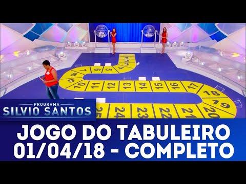 Jogo do Tabuleiro - Completo | Programa Silvio Santos (01/04/18)