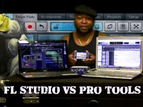 Fl Studio Vs Pro Tools Youtube