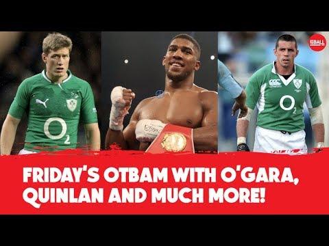 LIVE | OTB AM | Ronan O'Gara, Alan Quinlan, AJ in NY, GAA preview, 20x20