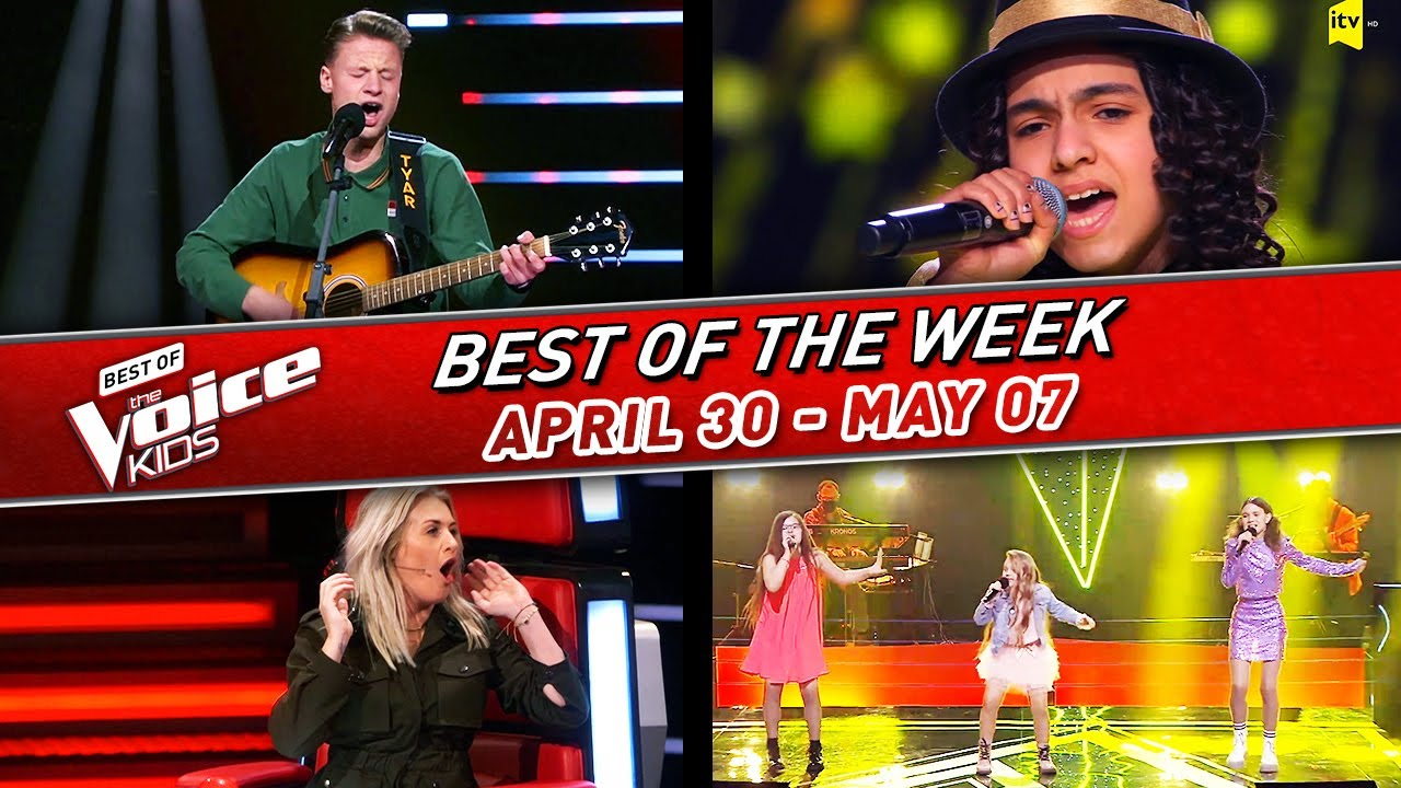 😍The BEST of the WEEK in The Voice Kids #7! | 📆April 30 - May 07 2021