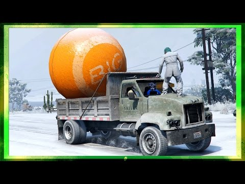 ICE ROAD MOUNTAIN TRUCKERS!!! - GTA 5 Free Roam Gameplay Ep #3 (Funny Moments)