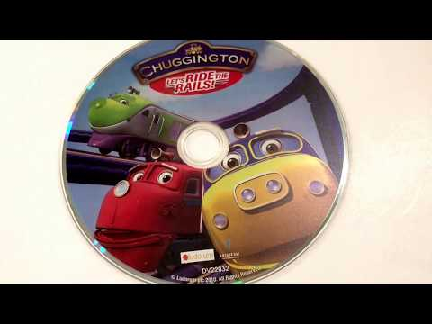 Chuggington * Let's Ride The Rails! * Animated Cartoon * DVD Movie Collection